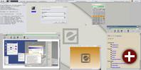 Einige Anwendungen in der Equinox-Desktopumgebung 2.1