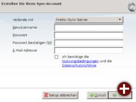 Einrichtung von Firefox Sync