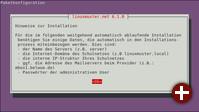 Einrichtung von Linuxmuster 6.1