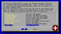 Einstellung der Tastatur in FreeBSD 4.11