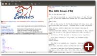 Emacs nach dem Start