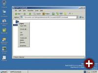 Entpacken eines Zip-Archivs im Explorer