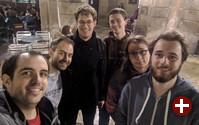 Entwickler von KDE Connect bei einem Treffen in Barcelona