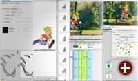 Erstellung einer Animation in Toonz