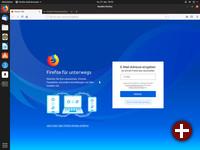 Erster Start von Firefox 66