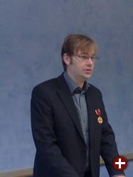 Matthias Ettrich mit dem Bundesverdienstkreuz