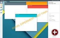 Experimenteller »Quantum OS«-Desktop