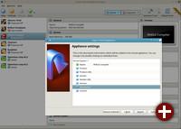 Export eines Systems in die Oracle Cloud