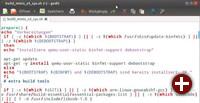 Fast automatisch: Unser Skript bereitet Ihr System für den Bau des Kernels und Root-Dateisystems für den Minix Neo X5 vor. Wenn nötig, installiert es die erforderlichen Pakete
