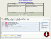 Fern-Administrations-Service in m23 12.1