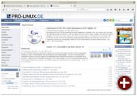 Firefox 43 unter Linux