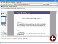 KPDF als PlugIn in Mozilla Firefox