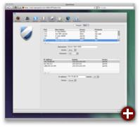 Firewall-Konfiguration mittels OpenPanel