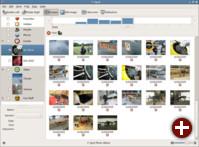 Fotoverwaltung F-Spot