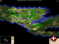 Freeciv: SDL-Variante des Spiels (Version 2.1.0 Beta3)