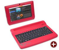 Tablet von Freescale mit einer Tastaturkomponente