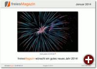 freiesMagazin 01/2014