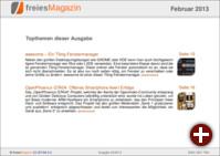 freiesMagazin 02/2013