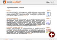 freiesMagazin 03/2013