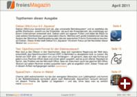 freiesMagazin 04/2011