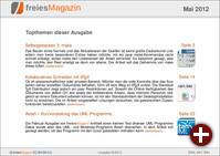 freiesMagazin 05/2012