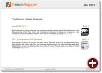 freiesMagazin 05/2013