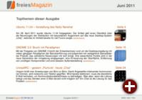 freiesMagazin 06/2011