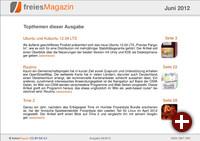 freiesMagazin 06/2012