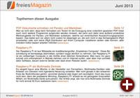 freiesMagazin 06/2013