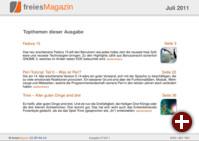 freiesMagazin 07/2011