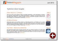 freiesMagazin 07/2013