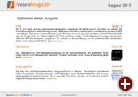 freiesMagazin 08/2012