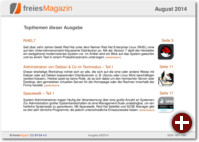 freiesMagazin 08/2014