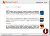 freiesMagazin 09/2013
