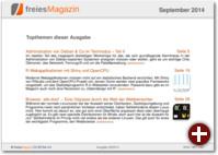 freiesMagazin 09/2014