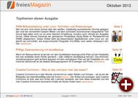 freiesMagazin 10/2012