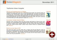 freiesMagazin 11/2011