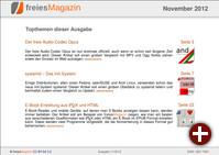 freiesMagazin 11/2012
