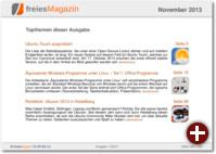 freiesMagazin 11/2013