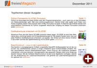 freiesMagazin 12/2011