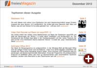 freiesMagazin 12/2012