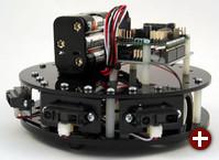 frindo mit Arduino, Batteriepack und Abstandssensoren