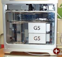 Das Innenleben des PowerMac G5