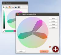 Farbpalettenmasken im Farbdialog