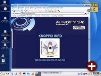 Der Knoppix-Desktop