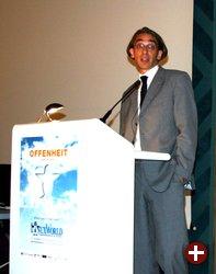Elmar Geese, Vorsitzender des Linux-Verbandes