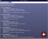 Trotz Quellcode ist die Installation sehr einfach