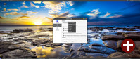 Desktop von GhostBSD