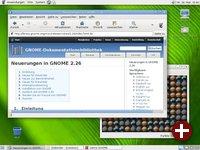 Desktop von GNOME 2.26