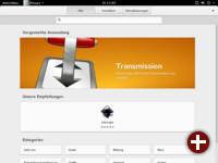 Gnome-Software mit Empfehlungen